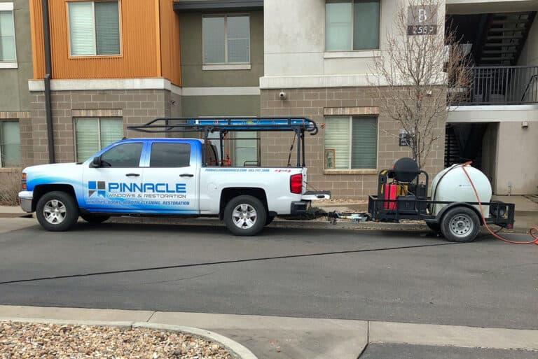 Pinnacle Windows & Restoration Truck